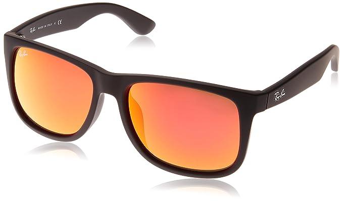 Amazon.com: Ray-Ban RB4165 °F Justin anteojos de sol, 58 MM ...