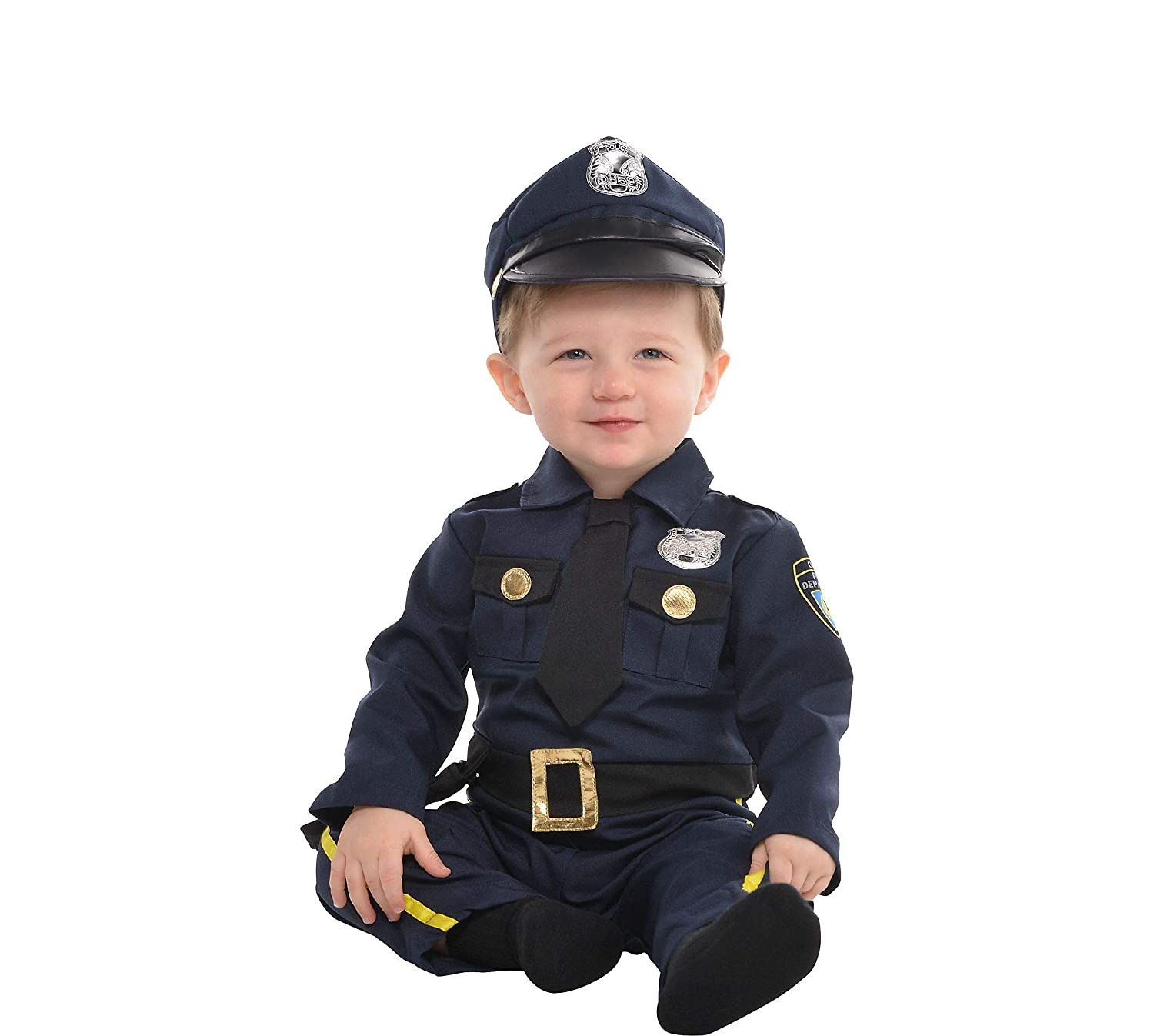 Amscan Cop Recruit Infants Costume AmScan Costumes USA
