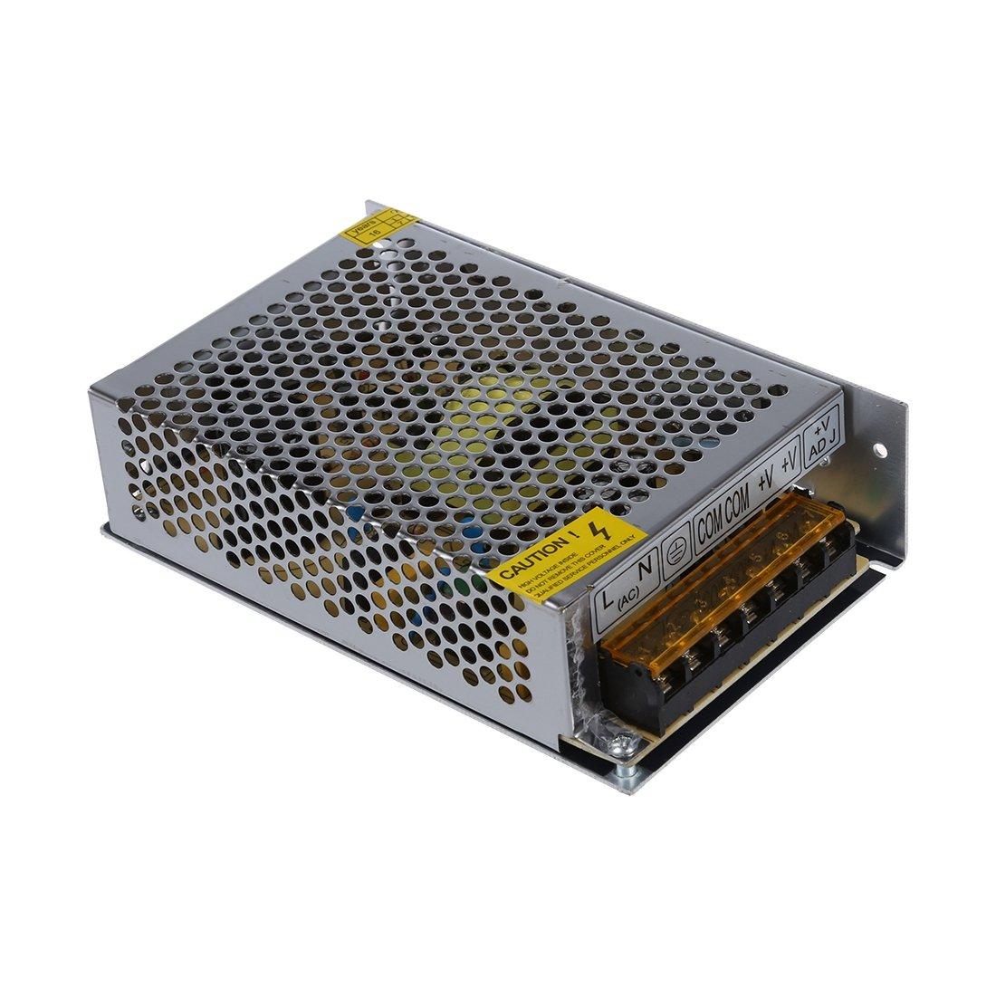 SODIAL(R) DC 12V 102W 8.5A Transformateur d'alimentation de commutation pour bande de lampe LED 110/220V