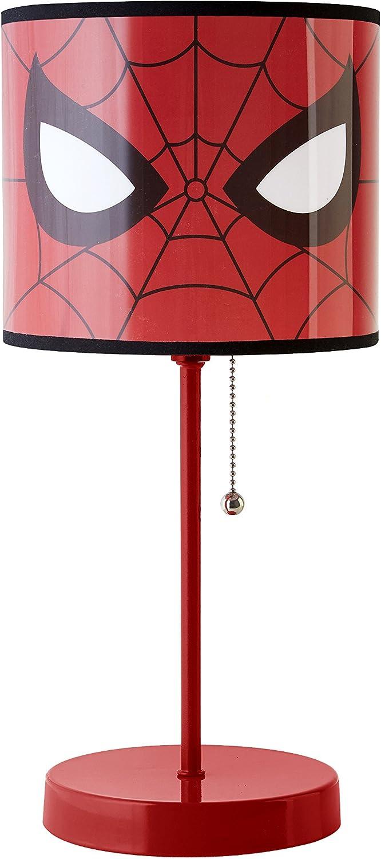 Leuchte Licht Lampe konisch Motiv 2 Spiderman Nachttischlampe
