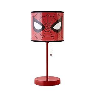 Marvel Spiderman Stick Lamp, Red