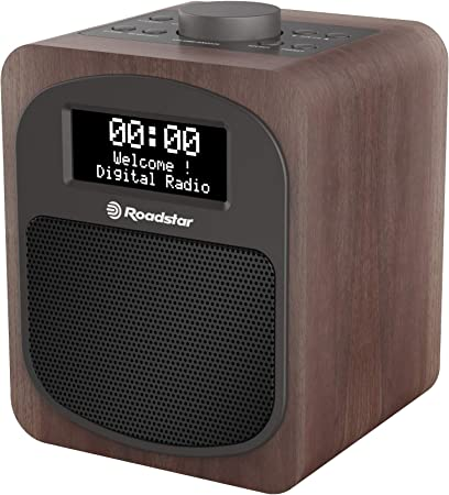 Personal, Digital, Dab,Dab+,FM, 24 W, De 2 v/ías, LCD Radio Roadstar HRA-600D+