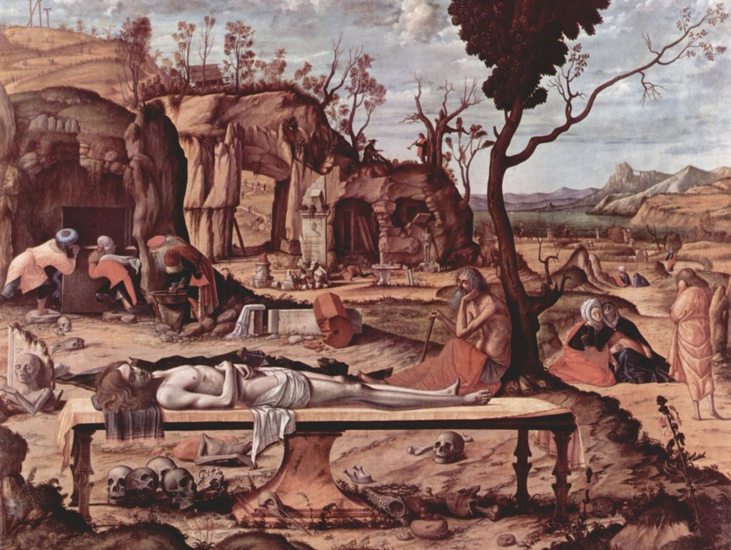 Lais Puzzle Vittore Carpaccio - Lamentation of Christ 2000 Pezzi