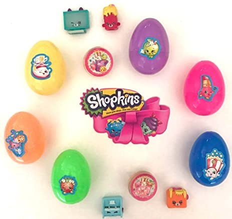 Shopkins Inspired Easter Eggs Season 4 5 6 7 Or All Stars Pick