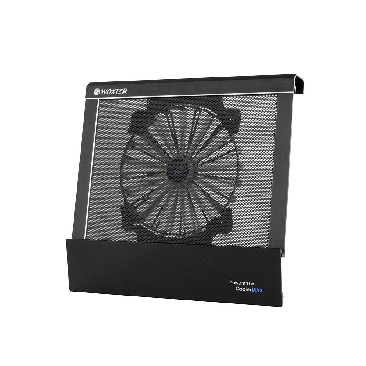 Woxter Cooling Pad 2200 - Base refrigeradora para ordenador portátil, color negro: Amazon.es: Informática