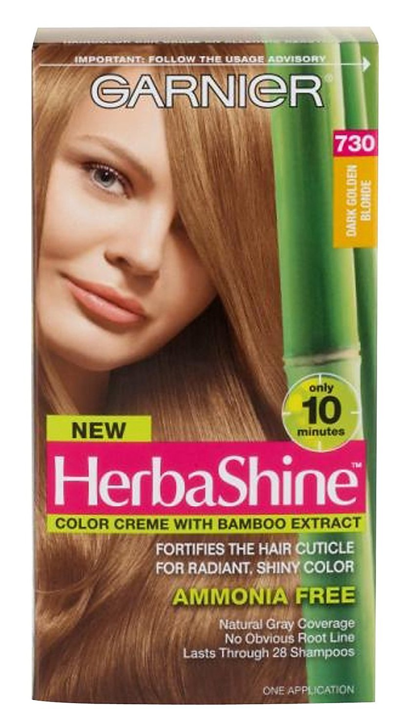 Amazon garnier herba shine hair color creme with bamboo amazon garnier herba shine hair color creme with bamboo extracts 730 dark golden blonde pack of 2 beauty nvjuhfo Image collections