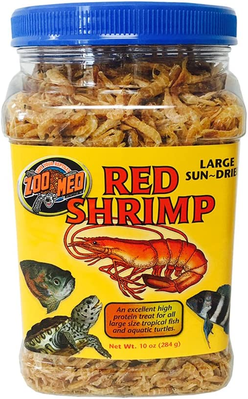 Royal Pet Supplies Inc Zoo Med Sun Dried Large Red Shrimp