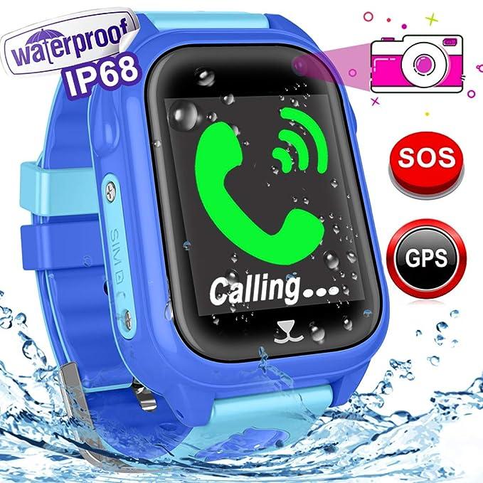 Reloj inteligente para niños - resistente al agua Fitness ...