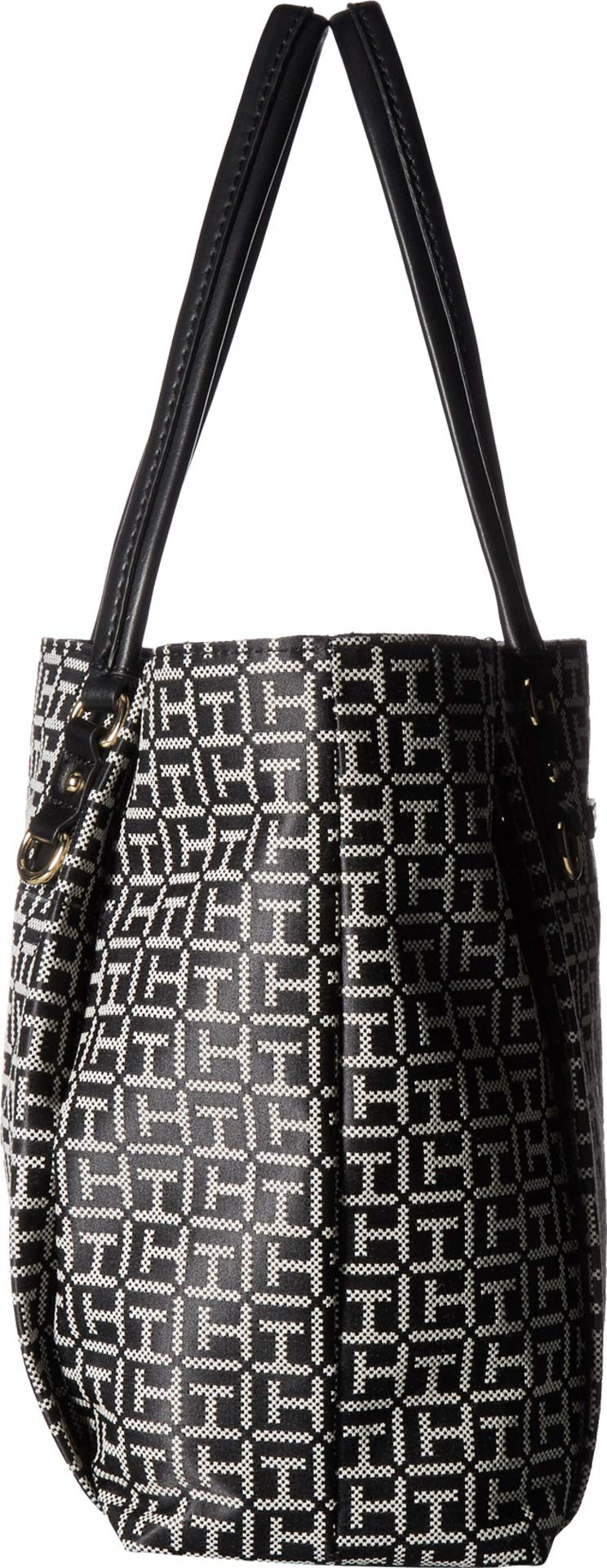 Tommy Hilfiger Women's Kelby Tote Black/White One Size by Tommy Hilfiger (Image #3)