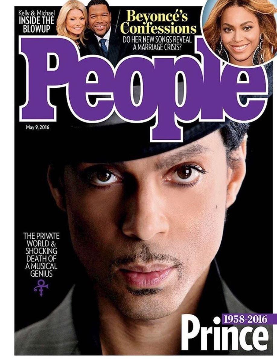 People Magazine May 9 2016 Prince Tribute Cover Amazoncom Books