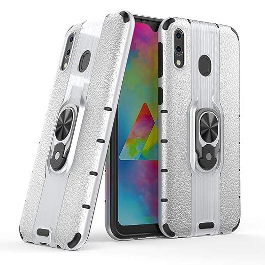 Funda Galaxy M20, Carcasa Móvil PC Dura + Silicona 2-In-1 ...