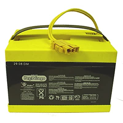 Peg Perego 24 Volt Replacement Battery for Peg Perego Vehicles: Toys & Games