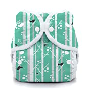 Thirsties Duo Wrap Cloth Diaper Cover, Snap Closure, Aspen Grove Size One (6-18 lbs)