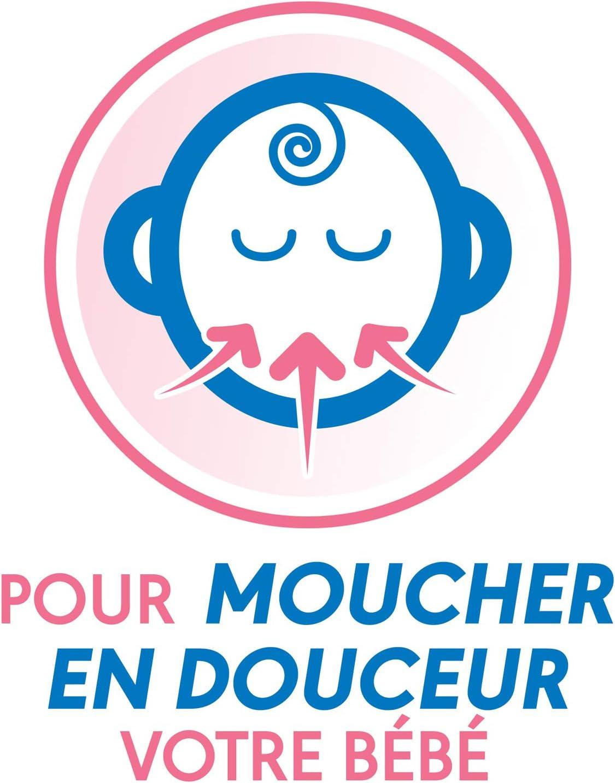 2 Embouts Jetables ProRhinel Mouche B/éb/é