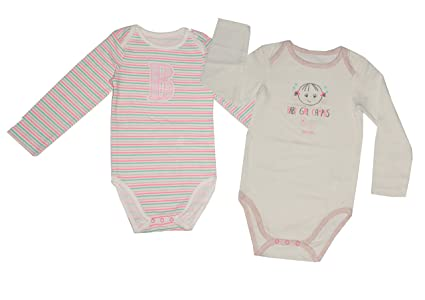 f728c90aa6cd5 New Born Babies Bodysuit Romper Set of 2 Soft Cotton Knit Colourful Prints  (24-36 Months)  Amazon.in  Baby