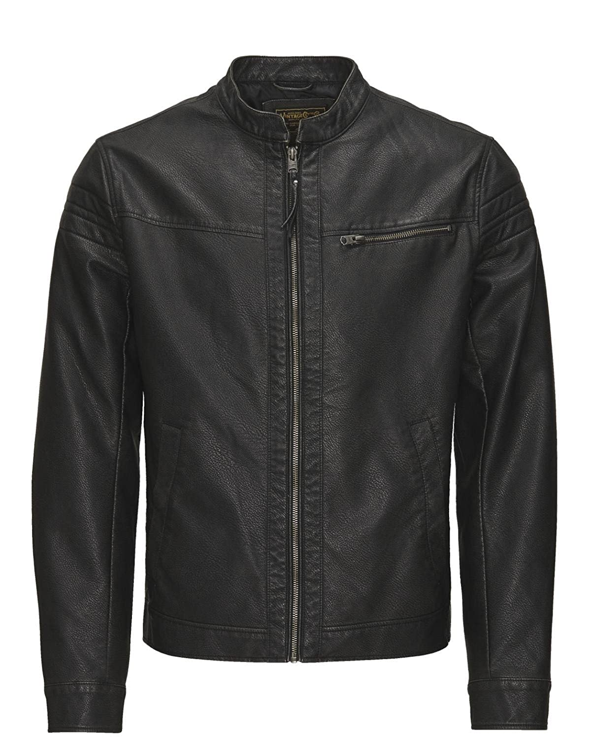 Jack and Jones JJVRACER Jacke Kunst Leder