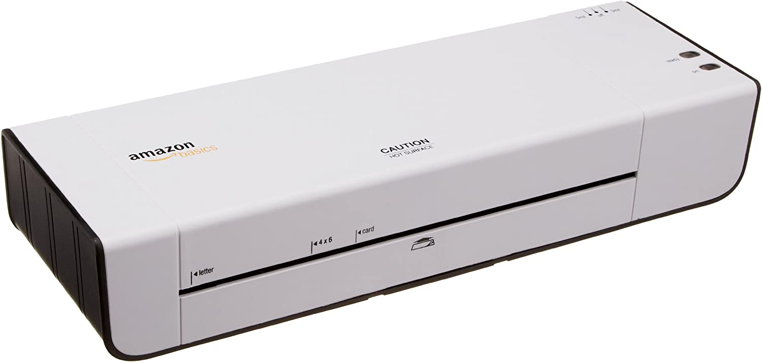 AmazonBasics 9-Inch Thermal Laminator Machine