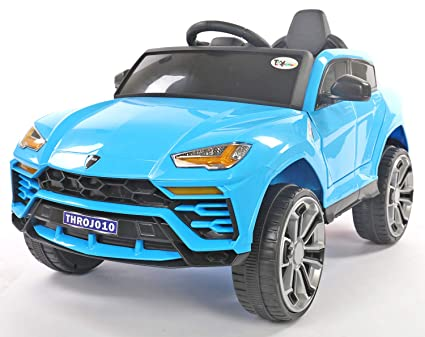 0d82504ae Buy Toy House Dazzling Lambro Metal SUV Rechargeable Battery Operated Ride-on  Car for Kids (2 to 5yrs