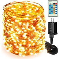 Moobibear 500-LED 164-Foot Outdoor String Lights with Remote Control