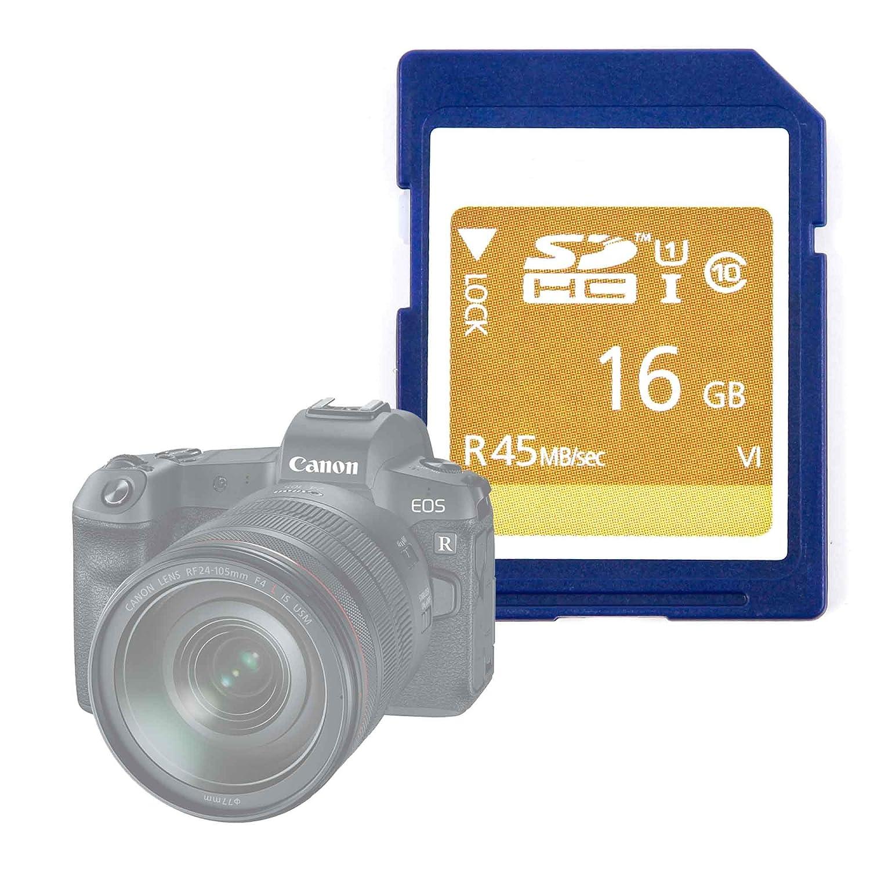 DURAGADGET Tarjeta de Memoria SD HC UHS-I 16 GB para Cámara Canon ...