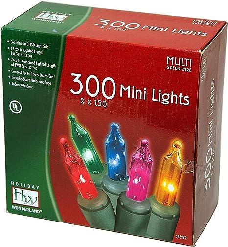 Noma//Inliten Holiday Wonderlands 300 Mini Lights Set Pack of 4