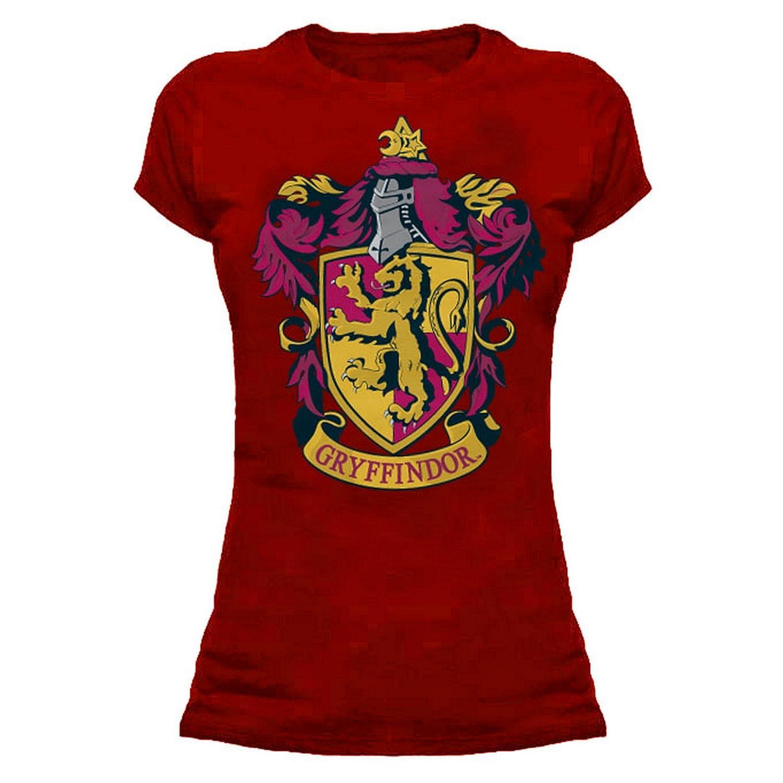HARRY POTTER Womens/Ladies Gryffindor Crest T-Shirt