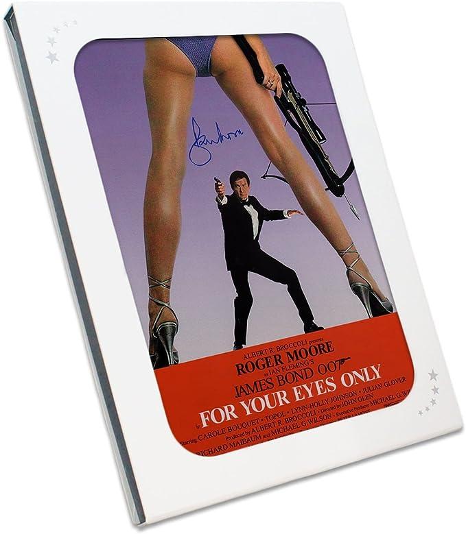 Sólo para sus ojos de James Bond Póster de película, firmada por ...