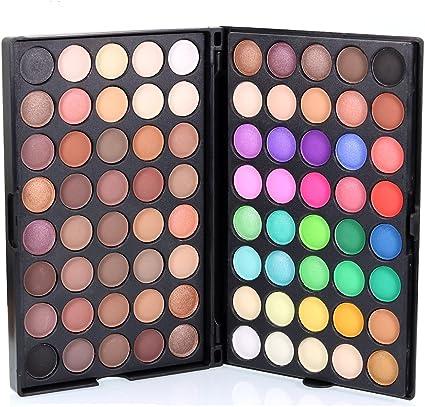 Sombras de Ojos, TOFAR 80 colores paleta de sombra de ojos Profesional eyeshadow palette Paleta de Maquillaje Cosmética con Color Cálido y Frío: Amazon.es: Belleza