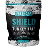 SHIELD - Turkey Tail Mushroom Extract Powder - USDA Organic -60 g- Supplement - Immune Protection - Add to Coffee/Tea/Smoothies-Real Fruiting Body No Fillers
