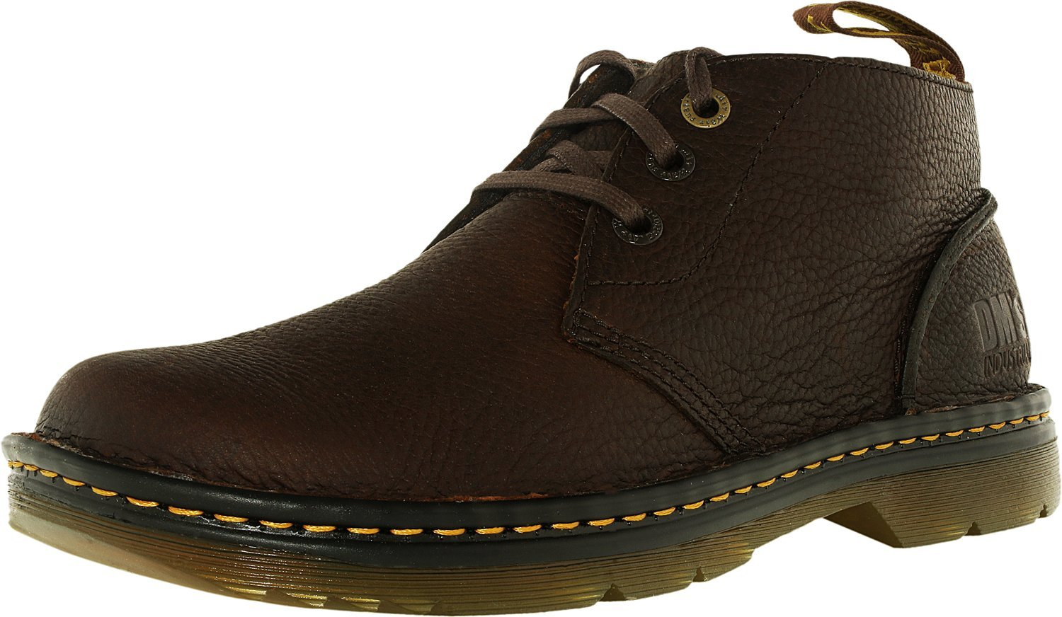 Dr. Martens Work Men's Sussex Dark Brown Bear Track 10 M UK by Dr. Martens