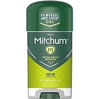 Mitchum Antiperspirant Deodorant Stick for Men, Triple Odor Defense Gel, 48 Hr Protection, Dermatologist Tested…
