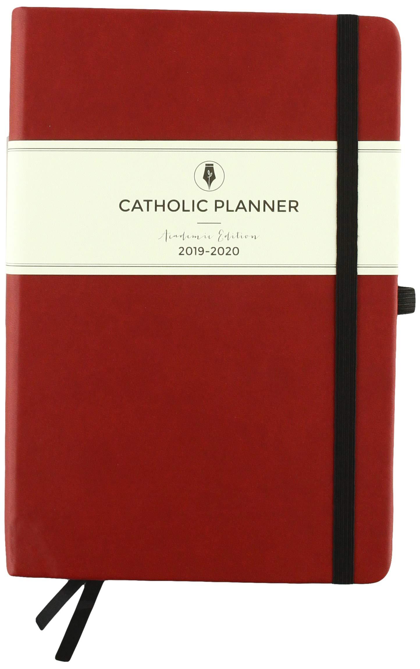 2014-2020 Liturgical Calendar 2019 2020 Catholic Planner Academic Edition: Wine, Compact