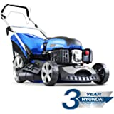 "Hyundai HYM460SP 4-stroke Petrol Lawn Mower Cutting Width 18"" / 46cm 139 Cc Self Propelled"