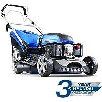 """Hyundai HYM460SP 4-stroke Petrol Lawn Mower Cutting Width 18"""" / 46cm 139 Cc Self Propelled"""