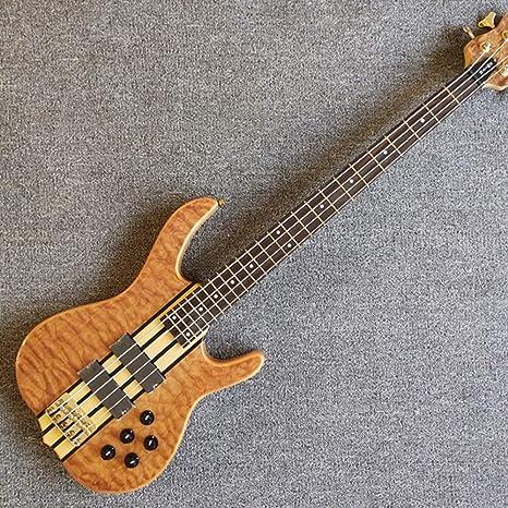 Guitarra eléctrica de bajo con 4 cuerdas: Amazon.es: Instrumentos ...