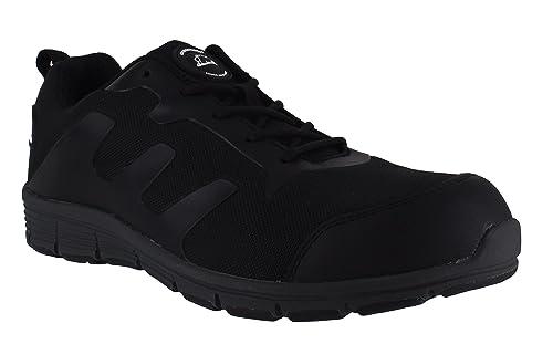 Groundwork - Zapatillas de seguridad hombre , color negro, talla 44