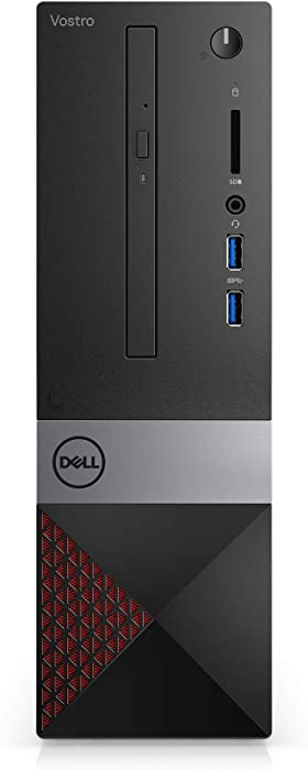 Dell Vostro Desktop 3470 SFF- v3470-5247BLK-PUS- Intel Core i5-8 GB RAM - 256 GB SSD - Windows 10 Pro - Black