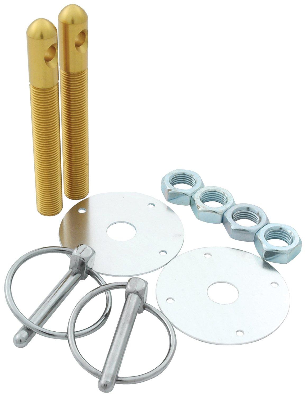 Allstar Performance ALL18503 Gold 1//2 Aluminum Hood Pin Kit