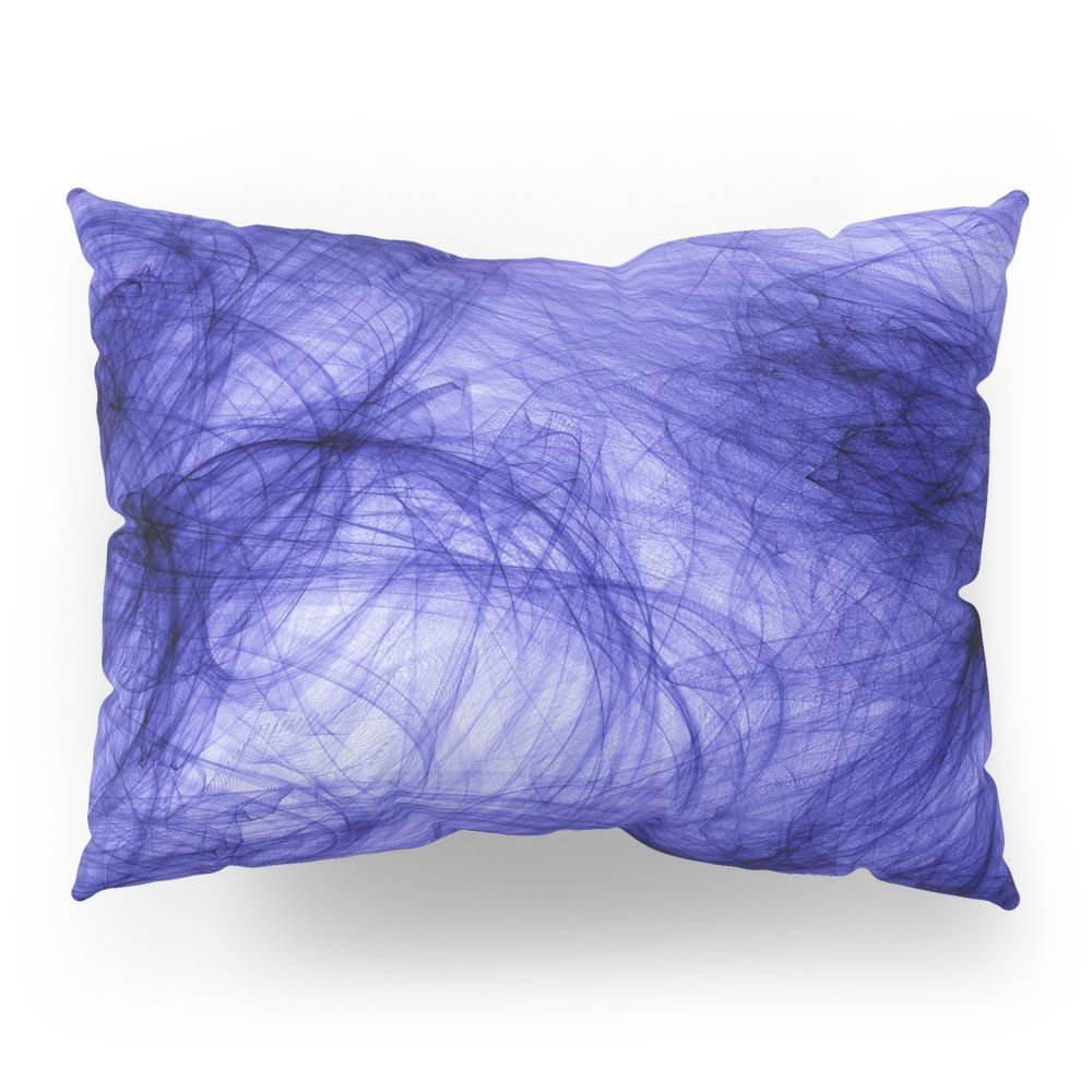 Society6 PURPLE INDIAN INK IN WATER Pillow Sham Standard (20'' x 26'') Set of 2