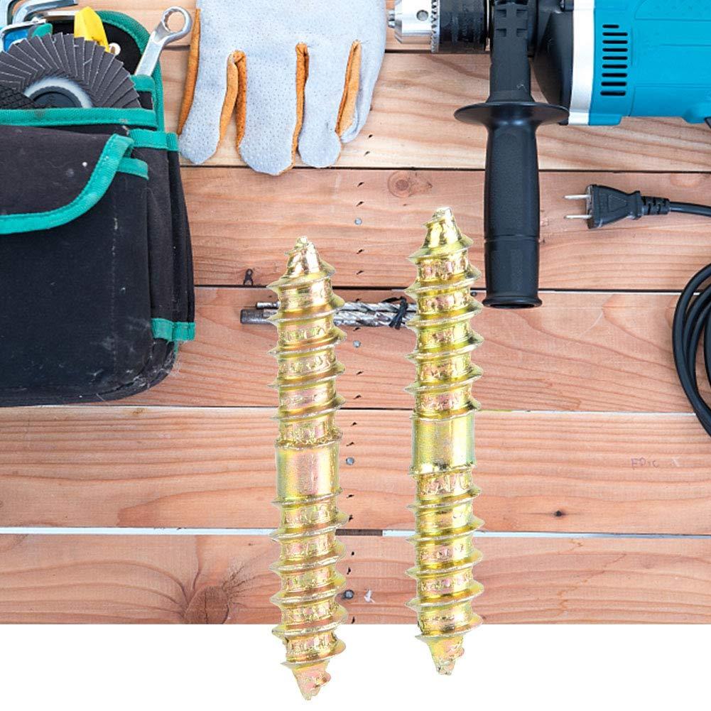 30mm doppelschraube schraubverschluss gewindebolzen holzbearbeitung m/öbel stangen anschlussstangen bolzen 20 st/ücke 5