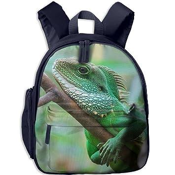 SARA NELL Kids School Backpack Bearded Dragon Lizard Travel Bag