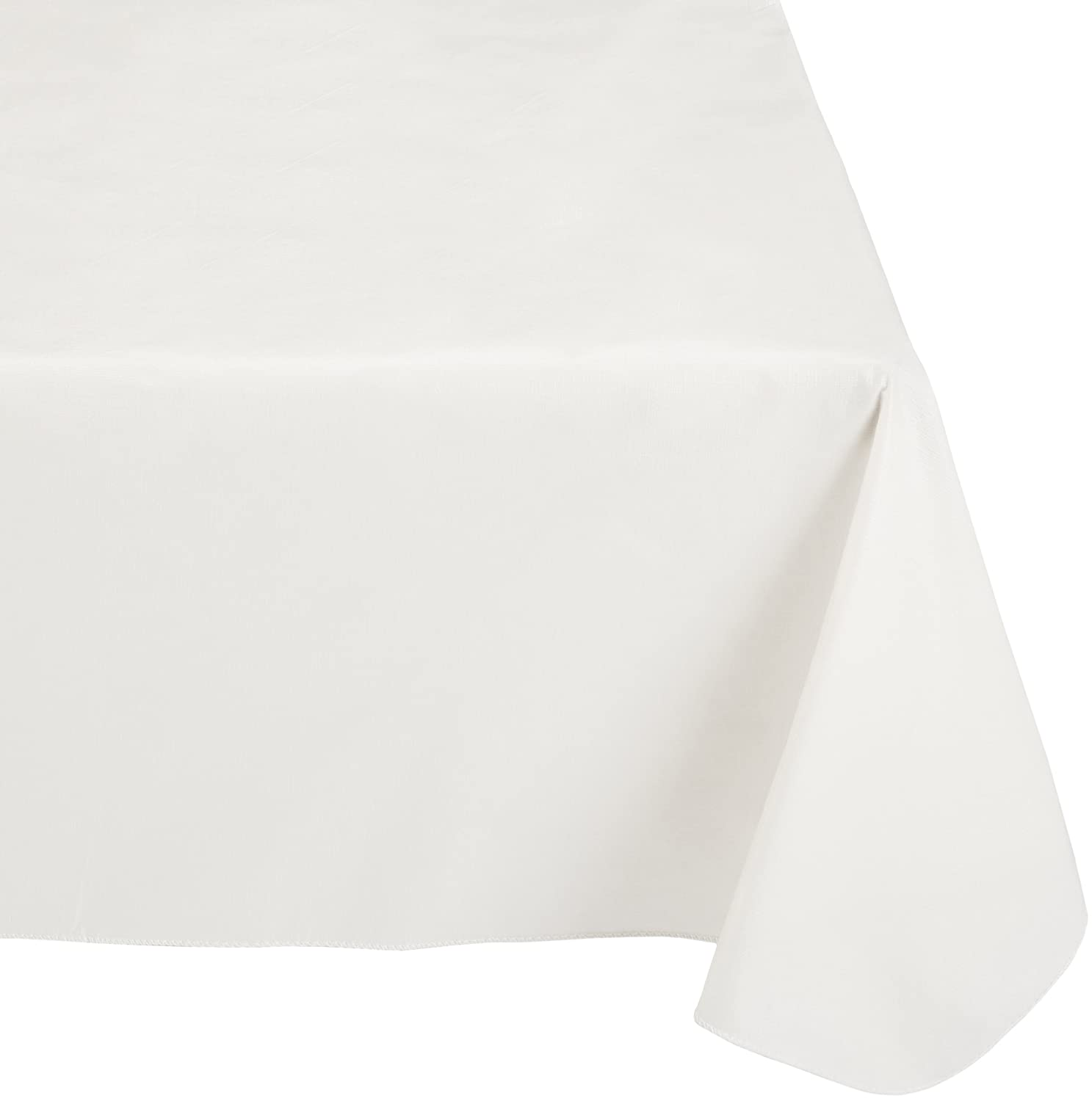 Sage Luxury Home SFLN-RD//42 70-Inch Round Carnation Home Fashions Vinyl Tablecloth with Polyester Flannel Backing
