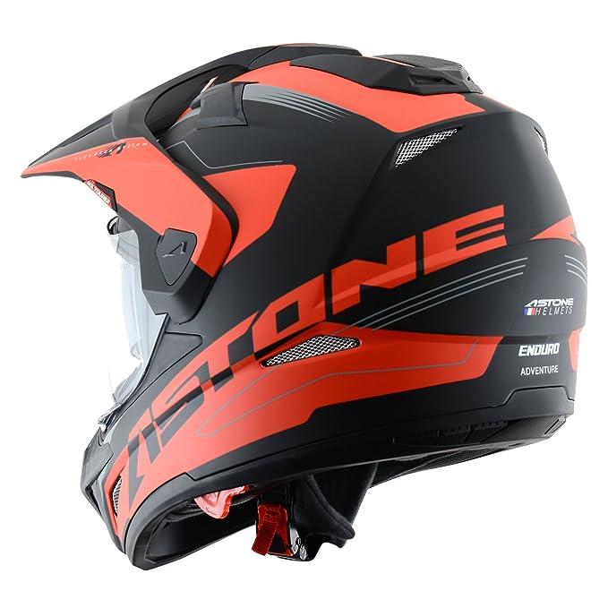 Astone Helmets Tourer Adventure, color Rojo, talla XS: Amazon.es: Coche y moto