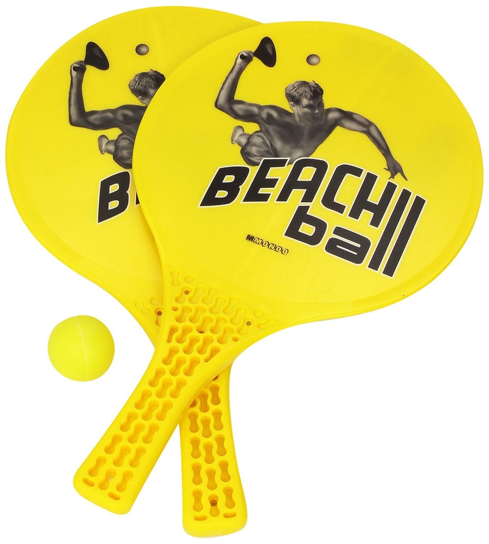 Mondo - Palas de playa , Modelos/colores Surtidos, 1 Unidad: Mondo 15/920/914 Beach Ball Rackets: Amazon.es: Juguetes y juegos