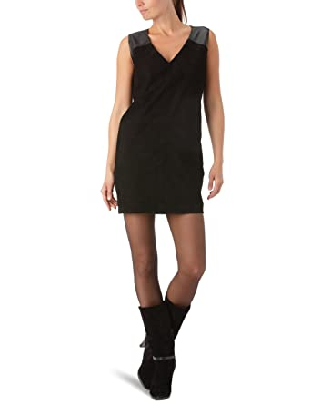 KOOKAI Damen Kleid (mini) L0098 Gr. 38 (FR 40) Schwarz(
