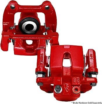 Front Red Powder Coated Brake Caliper Pair For Dodge Ram 1500 2500 3500
