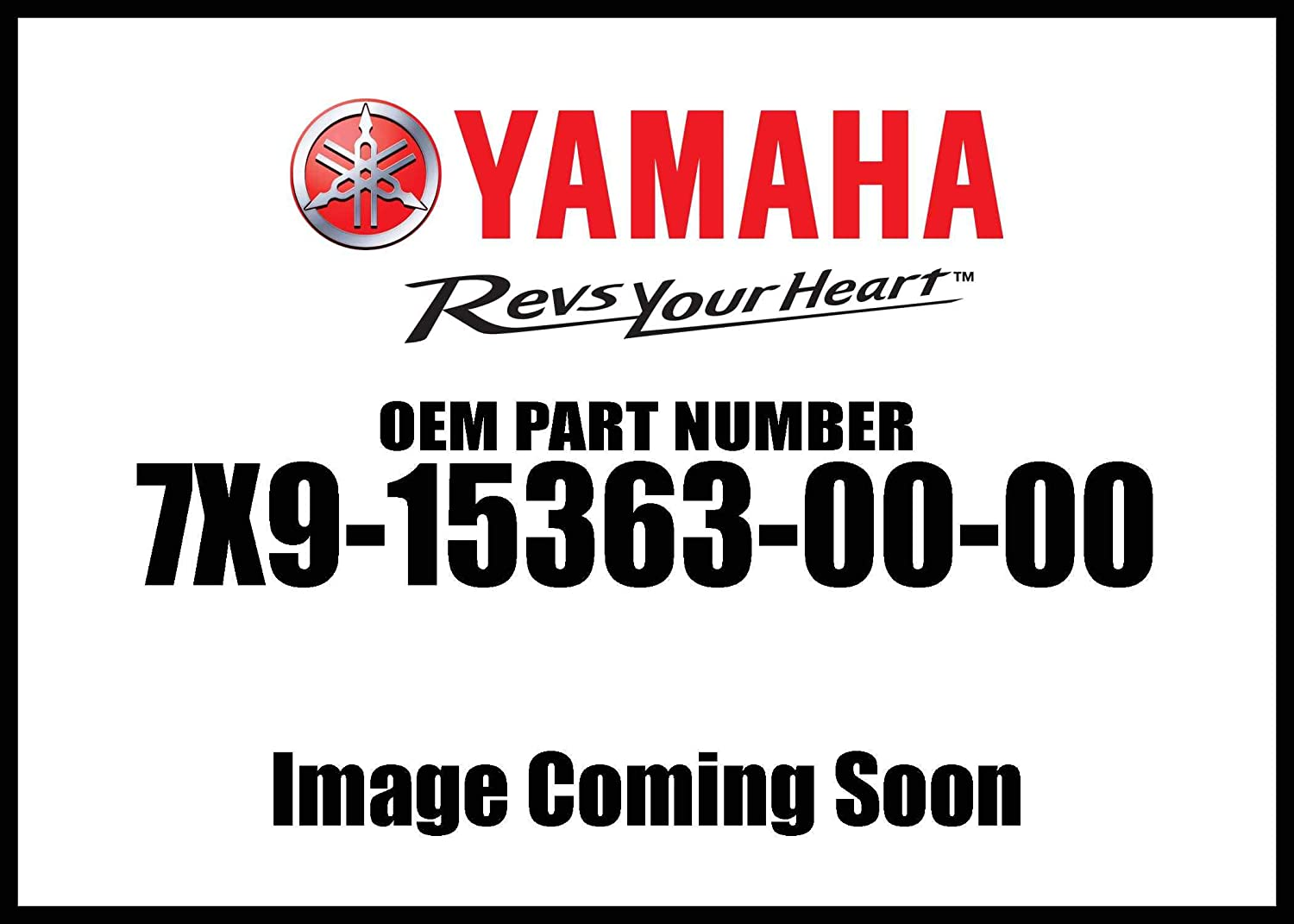 Yamaha Plug Oil 7X9-15363-00-00 New Oem