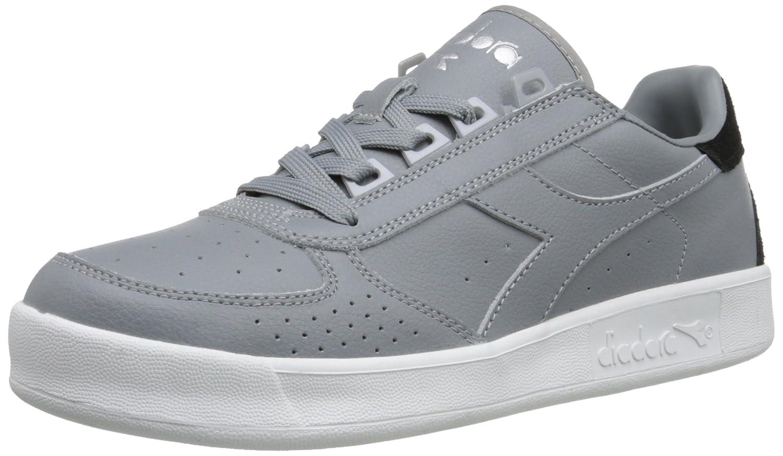 Diadora Men's B.Elite P.L. Court Shoe B014N4EQM6 9.5 D(M) US|Ash Grey