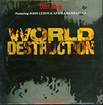 Time Zone - Time Zone - World Destruction - Tommy Boy - VS 743-12a ...