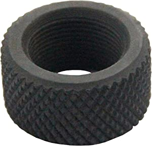 UP100® Black Steel .750 Diameter 223 .223 Thread Protector 1/2x28 Pitch + Free Crush Washer